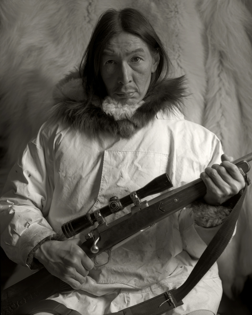 Inupiaq Hunter. Alaska