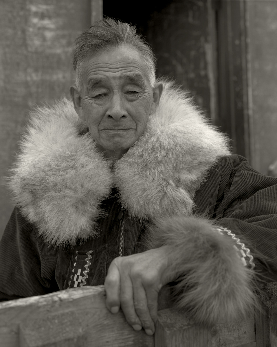 Inupiaq Master Polar Bear Hunter. Alaska